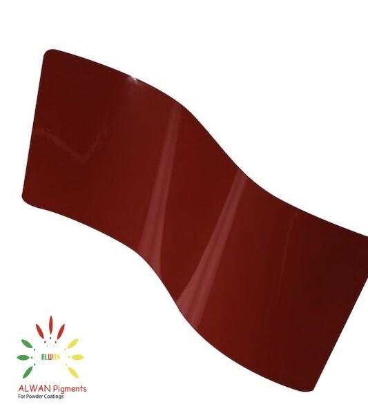 RAL 3011 Alwan powder coating china Wholesale powder coating high glossy epoxy polyester 20kg/Box