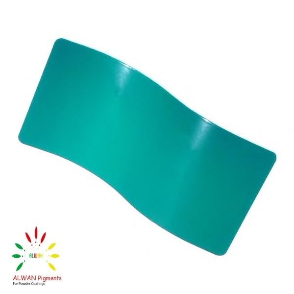 RAL 5021 Alwan powder coating china Wholesale powder coating high glossy epoxy polyester 20kg/Box