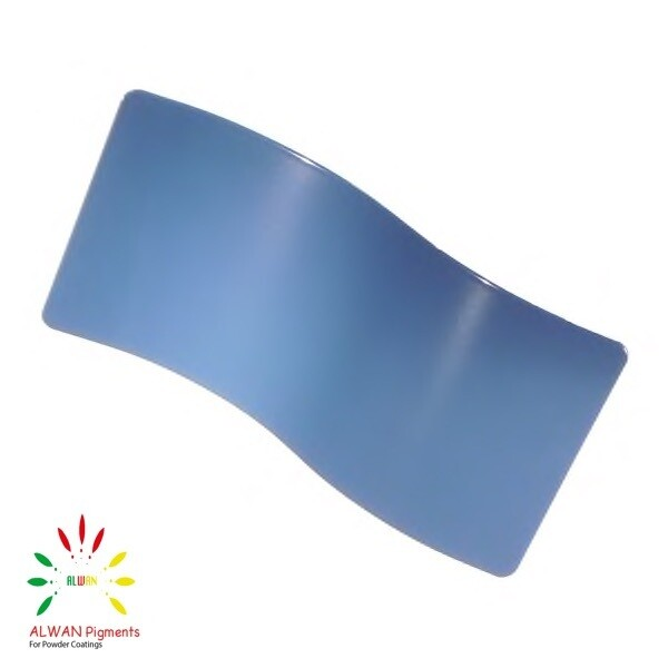 RAL 5007 Alwan powder coating china Wholesale powder coating high glossy epoxy polyester 20kg/Box