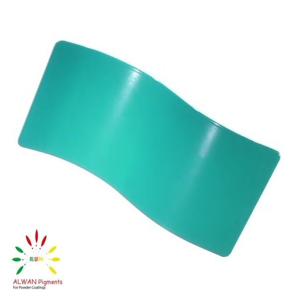 RAL 5018 Alwan powder coating china Wholesale powder coating high glossy epoxy polyester 20kg/Box