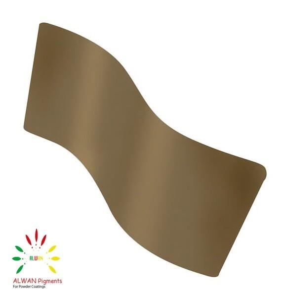 RAL 7008 Alwan powder coating china Wholesale powder coating high glossy epoxy polyester 20kg/Box