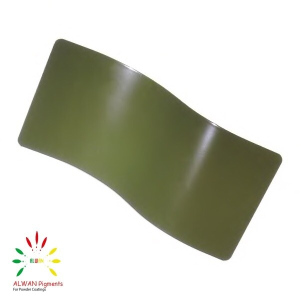 RAL 6003 Alwan powder coating china Wholesale powder coating high glossy epoxy polyester 20kg/Box