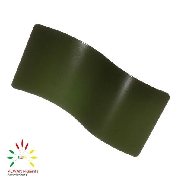 RAL 6007 Alwan powder coating china Wholesale powder coating high glossy epoxy polyester 20kg/Box