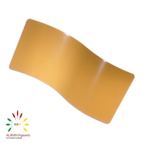 RAL 8000 Alwan powder coating china Wholesale powder coating high glossy epoxy polyester 20kg/Box