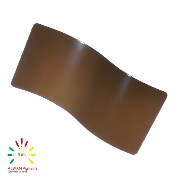 RAL 8028 Alwan powder coating china Wholesale powder coating high glossy epoxy polyester 20kg/Box