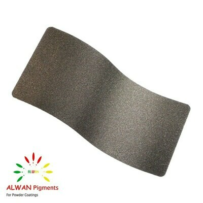 Black-gold Texture Alwan powder coating china Wholesale powder coating high glossy epoxy polyester 20kg/Box