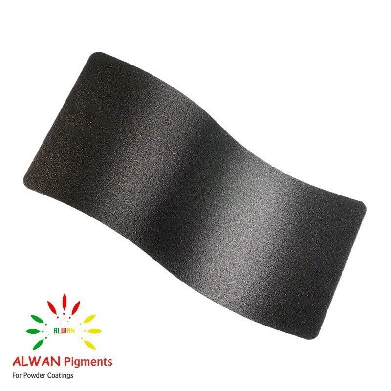 Black Metal Texture Alwan powder coating china Wholesale powder coating high glossy epoxy polyester 20kg/Box