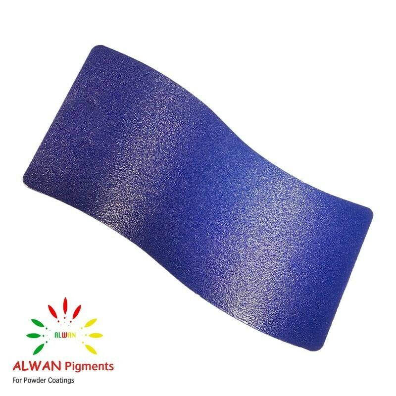 Blue Texture Alwan powder coating china Wholesale powder coating high glossy epoxy polyester 20kg/Box
