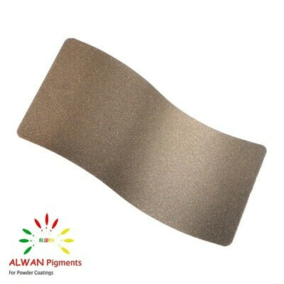 Bronze Texture  Alwan powder coating china Wholesale powder coating high glossy epoxy polyester 20kg/Box