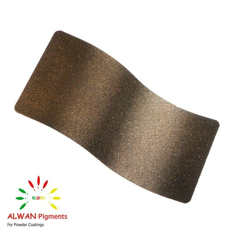 Bronze-light Texture Alwan powder coating china Wholesale powder coating high glossy epoxy polyester 20kg/Box