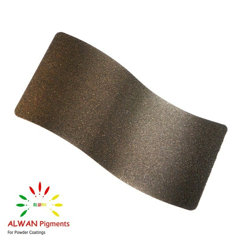 Bronze Texture Alwan powder coating china Wholesale powder coating high glossy epoxy polyester 20kg/Box
