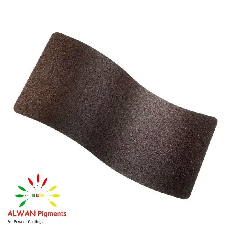Brown Texture Alwan powder coating china Wholesale powder coating high glossy epoxy polyester 20kg/Box
