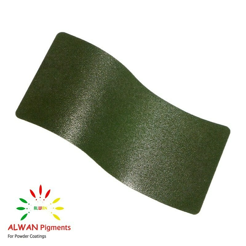 D Green Texture Alwan powder coating china Wholesale powder coating high glossy epoxy polyester 20kg/Box