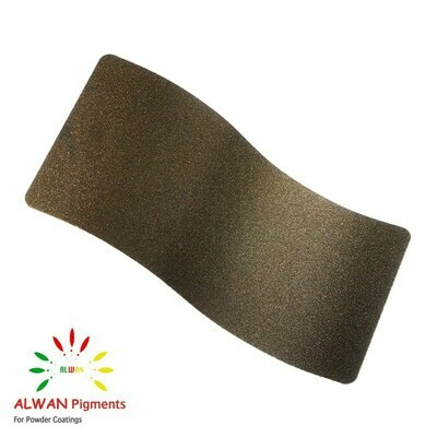 Dark Gold Texture Alwan powder coating china Wholesale powder coating high glossy epoxy polyester 20kg/Box
