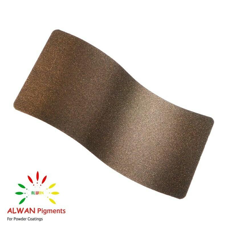 Double Bronze Alwan powder coating china Wholesale powder coating high glossy epoxy polyester 20kg/Box