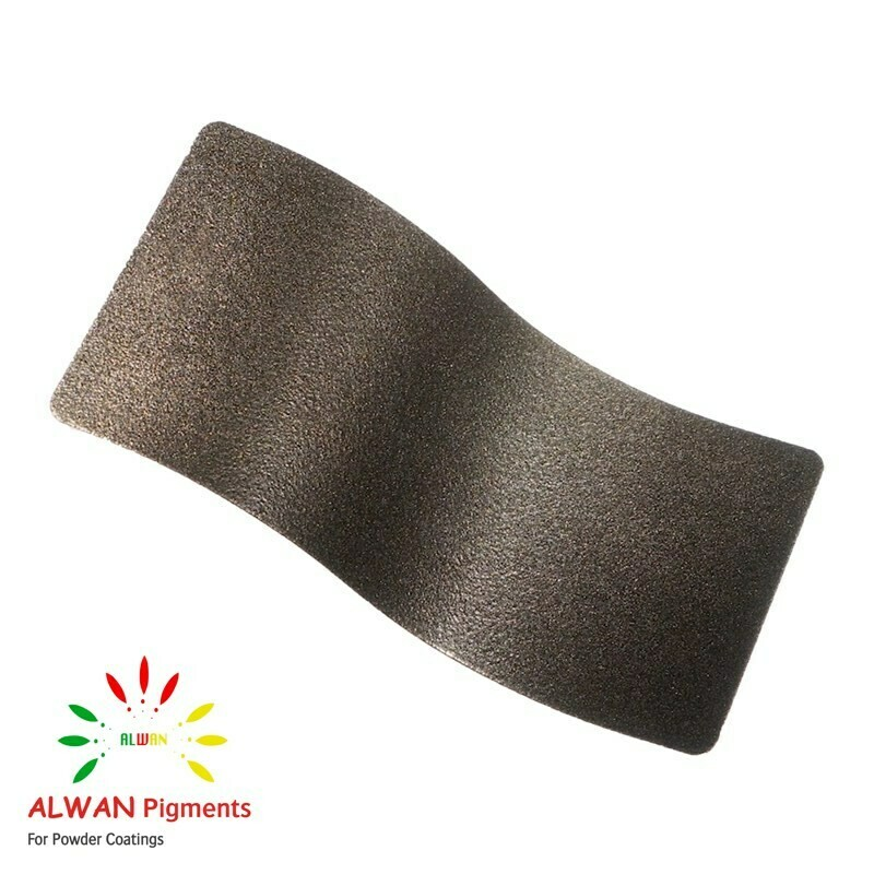Golden Charcoal Texture Alwan powder coating china Wholesale powder coating high glossy epoxy polyester 20kg/Box