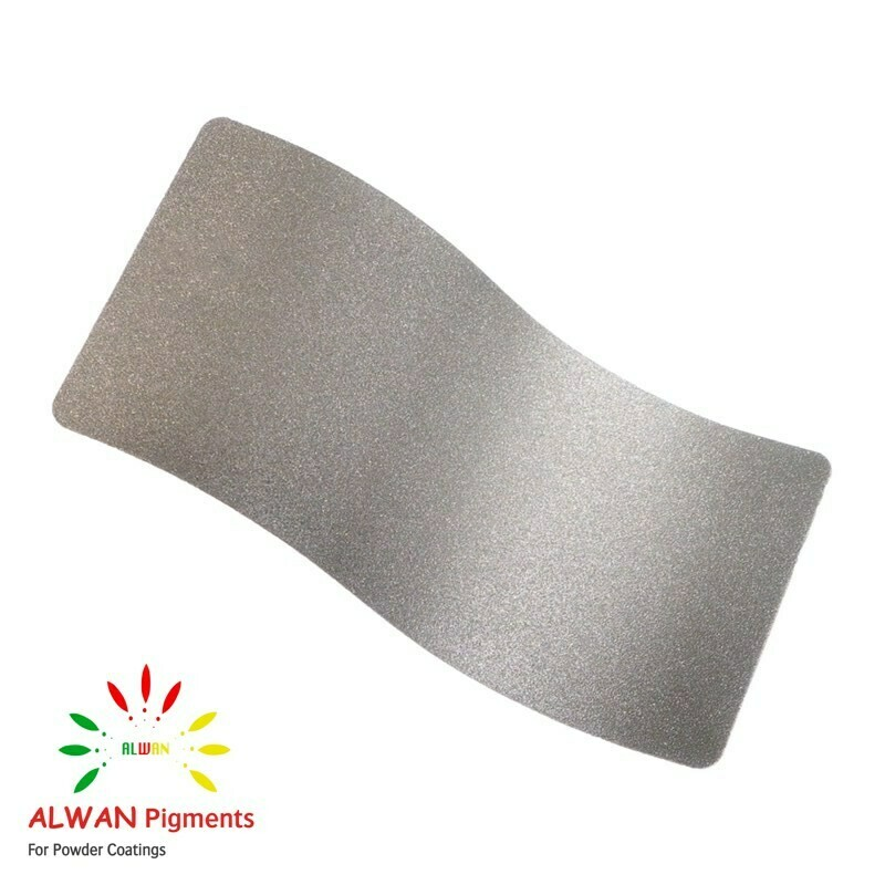 Foil Silver Texture Alwan powder coating china Wholesale powder coating high glossy epoxy polyester 20kg/Box