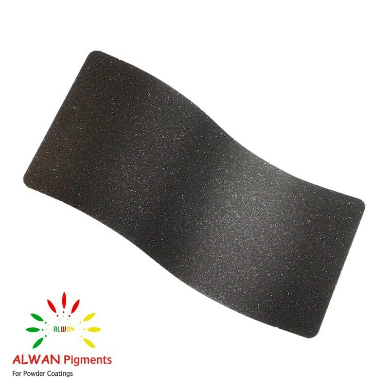 Frosted Charcoal Texture Alwan powder coating china Wholesale powder coating high glossy epoxy polyester 20kg/Box