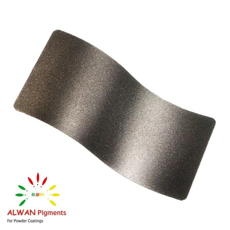 Glitter Bronze Texture Alwan powder coating china Wholesale powder coating high glossy epoxy polyester 20kg/Box