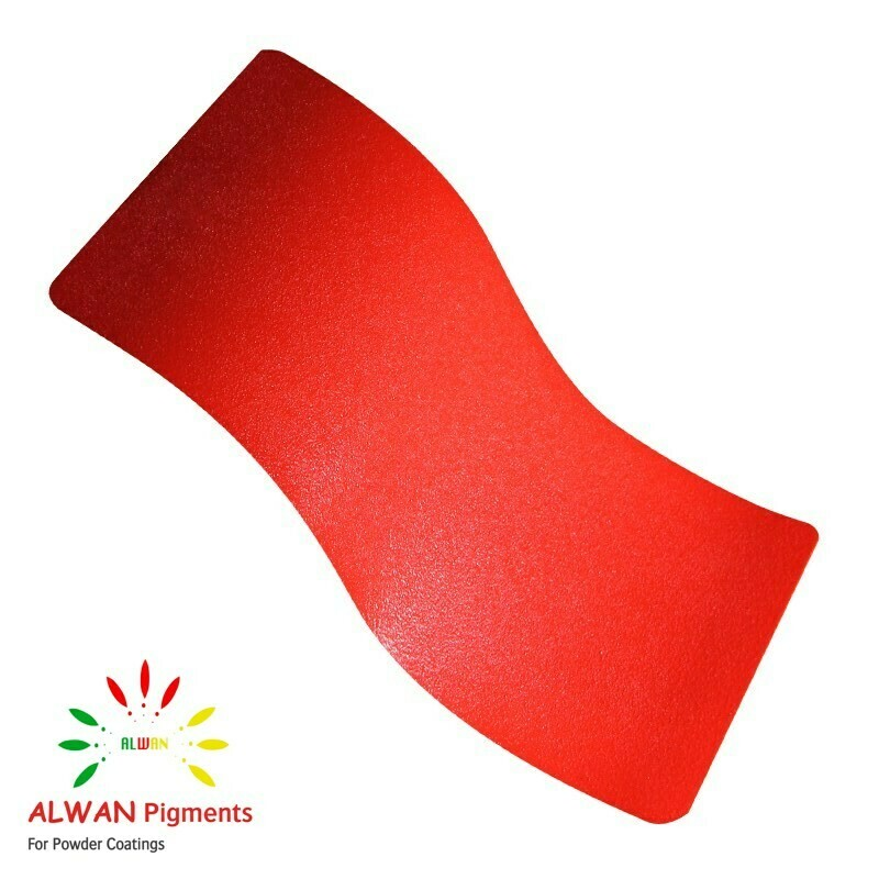 Hot Red Texture Alwan powder coating china Wholesale powder coating high glossy epoxy polyester 20kg/Box
