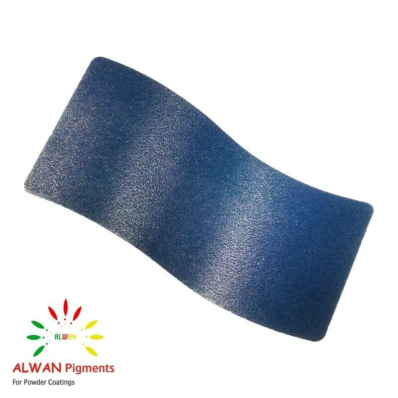 Iced-blue Texture Alwan powder coating china Wholesale powder coating high glossy epoxy polyester 20kg/Box