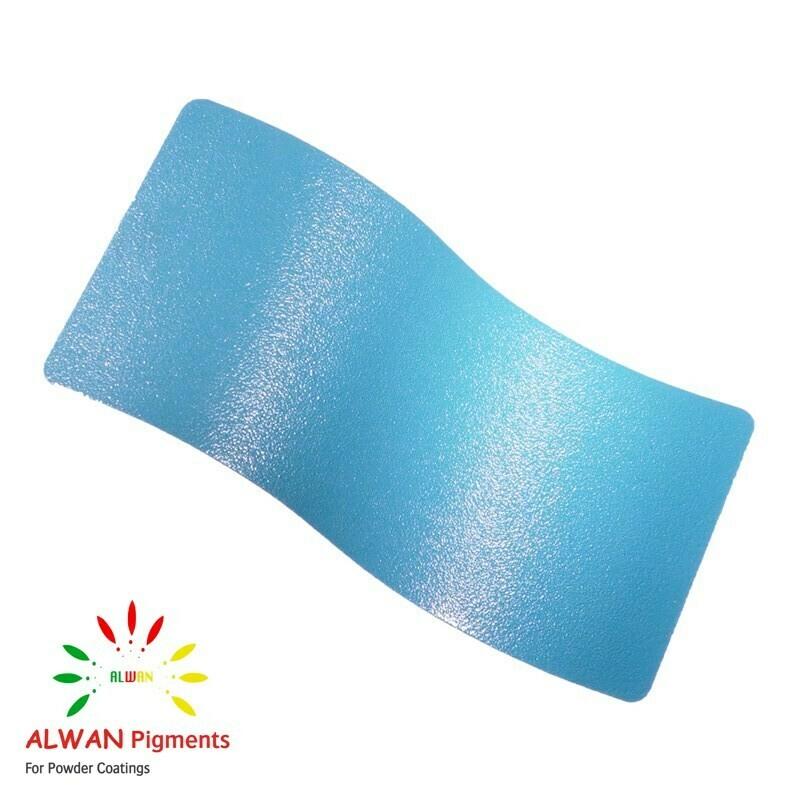 Powder Blue Texture Alwan powder coating china Wholesale powder coating high glossy epoxy polyester 20kg/Box