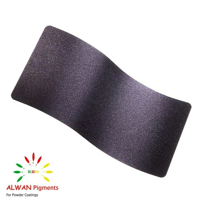 Purple Texture Alwan powder coating china Wholesale powder coating high glossy epoxy polyester 20kg/Box