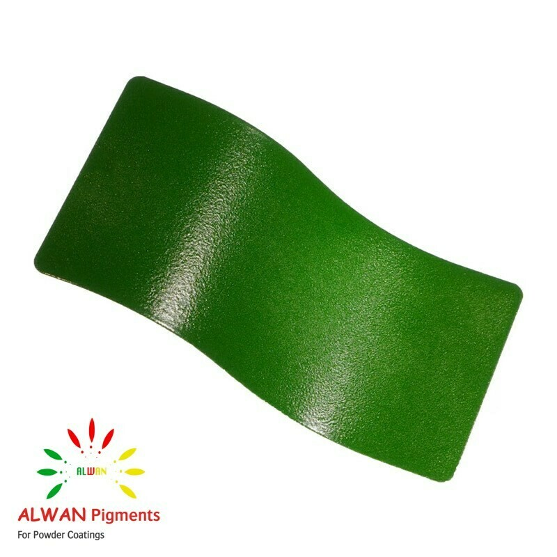 Tractor Green Texture Alwan powder coating china Wholesale powder coating high glossy epoxy polyester 20kg/Box