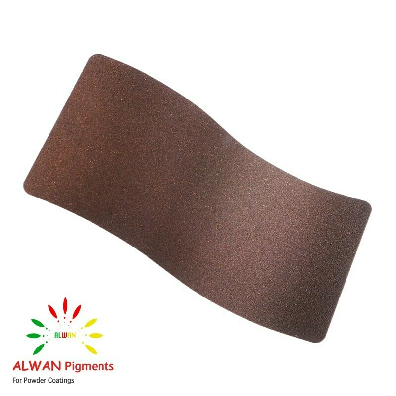 Old Brown Alwan powder coating china Wholesale powder coating high glossy epoxy polyester 20kg/Box