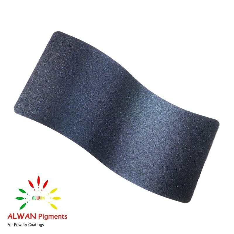 Night Sky Blue cast texture Alwan powder coating china Wholesale powder coating high glossy epoxy polyester 20kg/Box