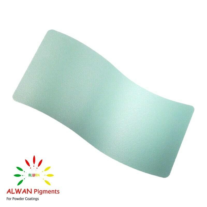 Turquoise Texture Alwan powder coating china Wholesale powder coating high glossy epoxy polyester 20kg/Box