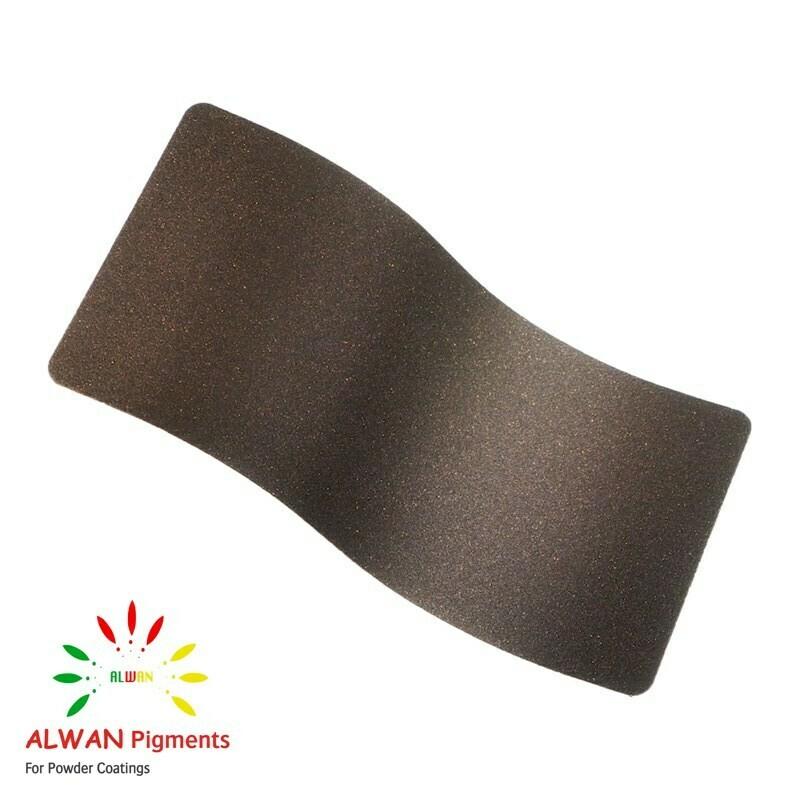 Woody Brown Alwan powder coating china Wholesale powder coating high glossy epoxy polyester 20kg/Box