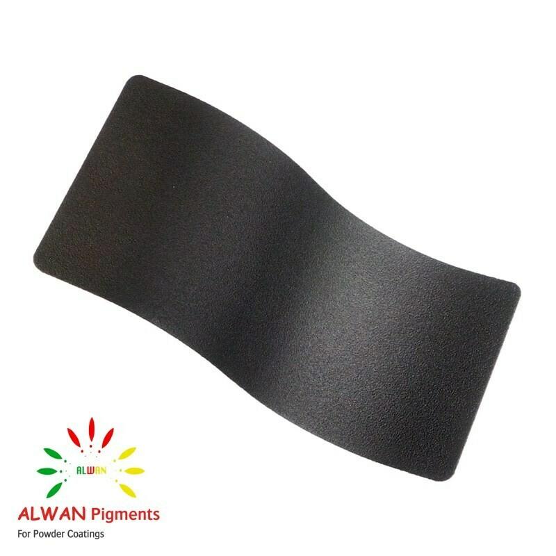 night black texture Alwan powder coating china Wholesale powder coating high glossy epoxy polyester 20kg/Box
