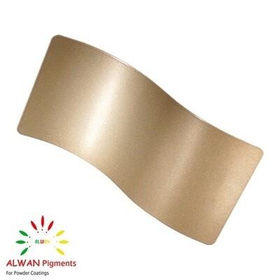 14k Gold Metallic Alwan powder coating china Wholesale powder coating high glossy epoxy polyester 20kg/Box
