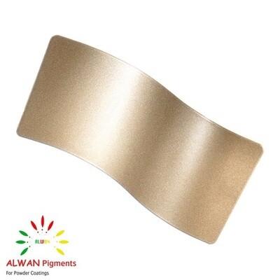 18k Gold Metallic Alwan powder coating china Wholesale powder coating high glossy epoxy polyester 20kg/Box