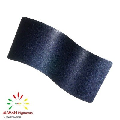 Blue Metallic Alwan powder coating china Wholesale powder coating high glossy epoxy polyester 20kg/Box