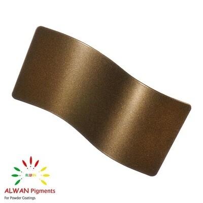 Brass Metallic Alwan powder coating china Wholesale powder coating high glossy epoxy polyester 20kg/Box