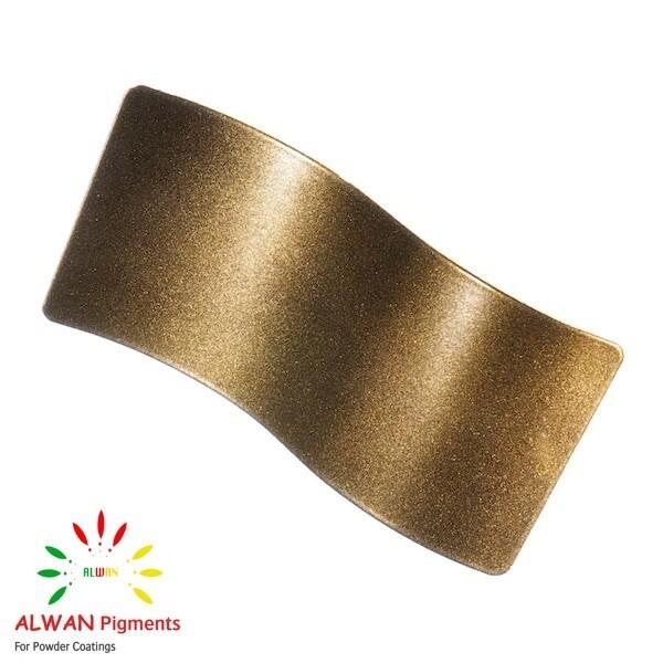 Bright Gold Metallic Alwan powder coating china Wholesale powder coating high glossy epoxy polyester 20kg/Box
