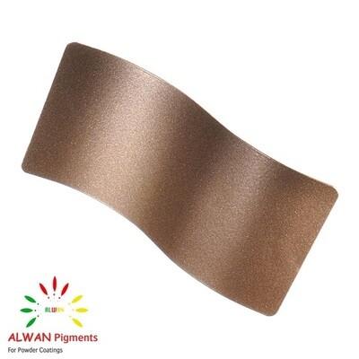 Bronze Metallic Alwan powder coating china Wholesale powder coating high glossy epoxy polyester 20kg/Box