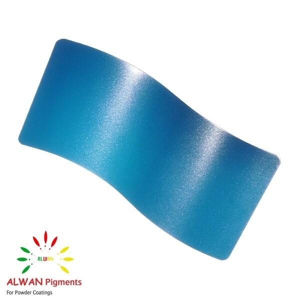 Light Blue Metallic Alwan powder coating china Wholesale powder coating high glossy epoxy polyester 20kg/Box