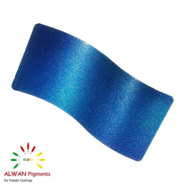 Mermaid Sparkle Metallic Alwan powder coating china Wholesale powder coating high glossy epoxy polyester 20kg/Box