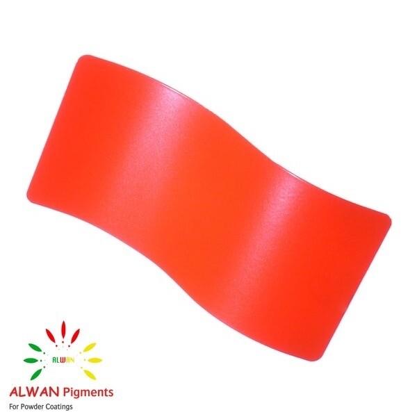 Orange 2 Metallic Alwan powder coating china Wholesale powder coating high glossy epoxy polyester 20kg/Box