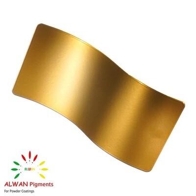 Rare Gold Metallic Alwan powder coating china Wholesale powder coating high glossy epoxy polyester 20kg/Box