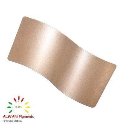 Rose Gold Metallic Alwan powder coating china Wholesale powder coating high glossy epoxy polyester 20kg/Box