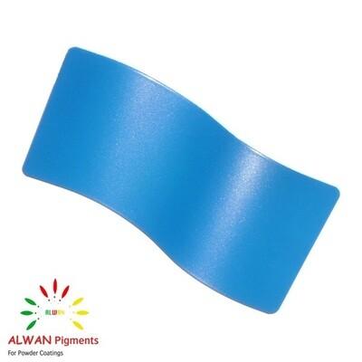 Sky Blue Metallic Alwan powder coating china Wholesale powder coating high glossy epoxy polyester 20kg/Box