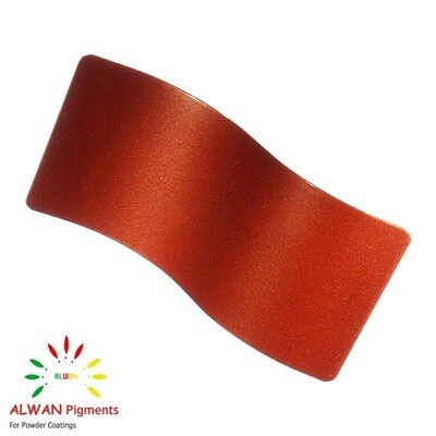 Flame Red Metallic Alwan powder coating china Wholesale powder coating high glossy epoxy polyester 20kg/Box