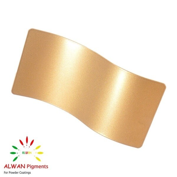 Gold Coat Metallic Alwan powder coating china Wholesale powder coating high glossy epoxy polyester 20kg/Box