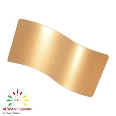 Gold Coat Metallic Alwan powder coating china Wholesale powder coating high glossy epoxy polyester 20kg/Box