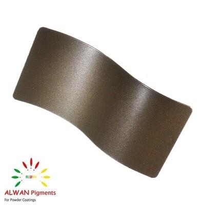 Deep Bronze Metallic Alwan powder coating china Wholesale powder coating high glossy epoxy polyester 20kg/Box