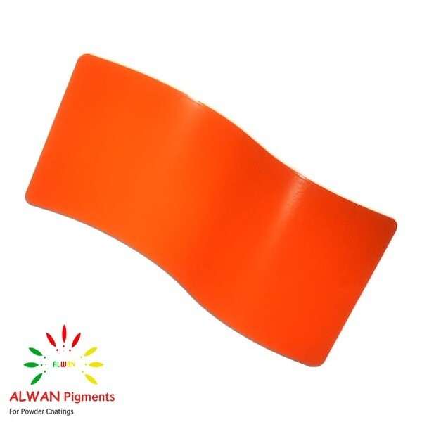 Orange Metallic Alwan powder coating china Wholesale powder coating high glossy epoxy polyester 20kg/Box